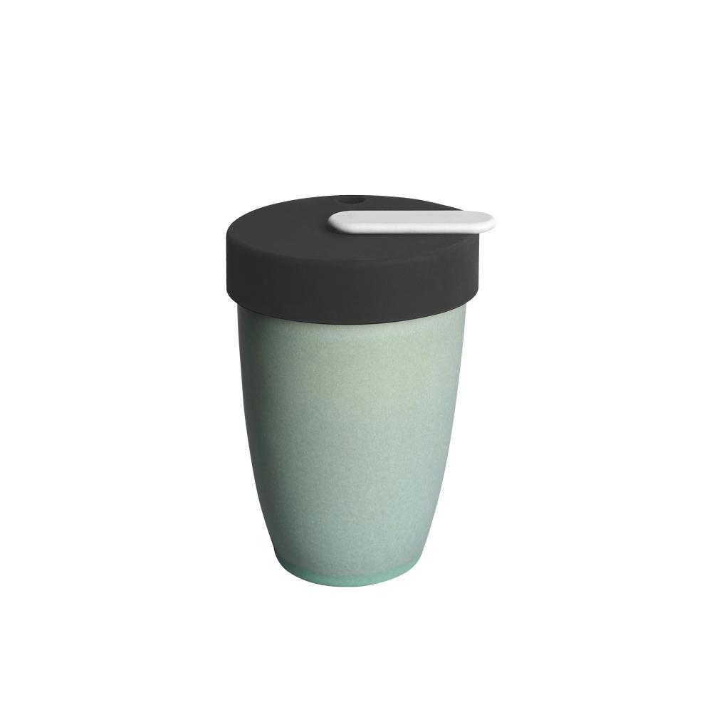 LOVERAMICS 愛陶樂   Nomad 遊牧雙層陶瓷隨行杯 250ml 職人色系 (羅勒色)