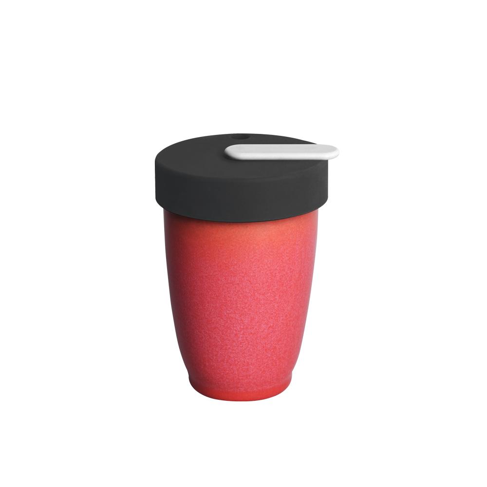 LOVERAMICS 愛陶樂 | Nomad 遊牧雙層陶瓷隨行杯 250ml 職人色系 (莓果色)