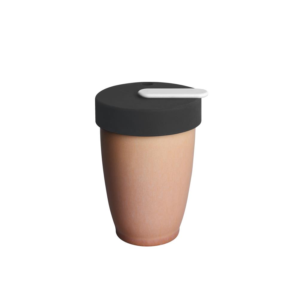 LOVERAMICS 愛陶樂   Nomad 遊牧雙層陶瓷隨行杯 250ml 職人色系 (玫瑰色)