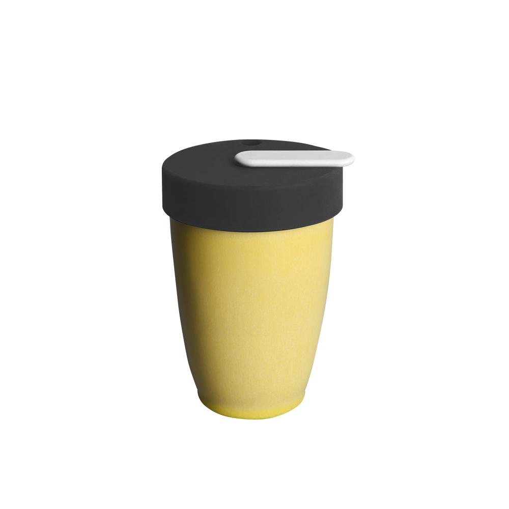 LOVERAMICS 愛陶樂   Nomad 遊牧雙層陶瓷隨行杯 250ml 職人色系 (晨曦色)