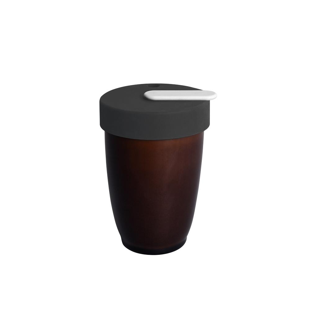 LOVERAMICS 愛陶樂 | Nomad 遊牧雙層陶瓷隨行杯 250ml 職人色系 (焦糖色)