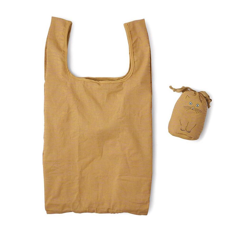 ROOTOTE|貓咪綿質背心購物袋 (虎斑貓)