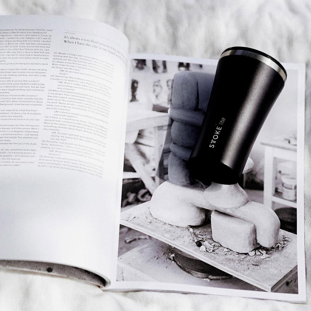 STTOKE|LITE 精品隨行杯 12oz(360ml) 炭黑