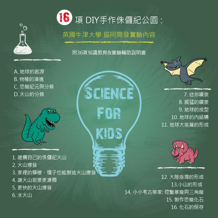 Science4you|英國科學魔術百寶盒 - 侏儸紀公園