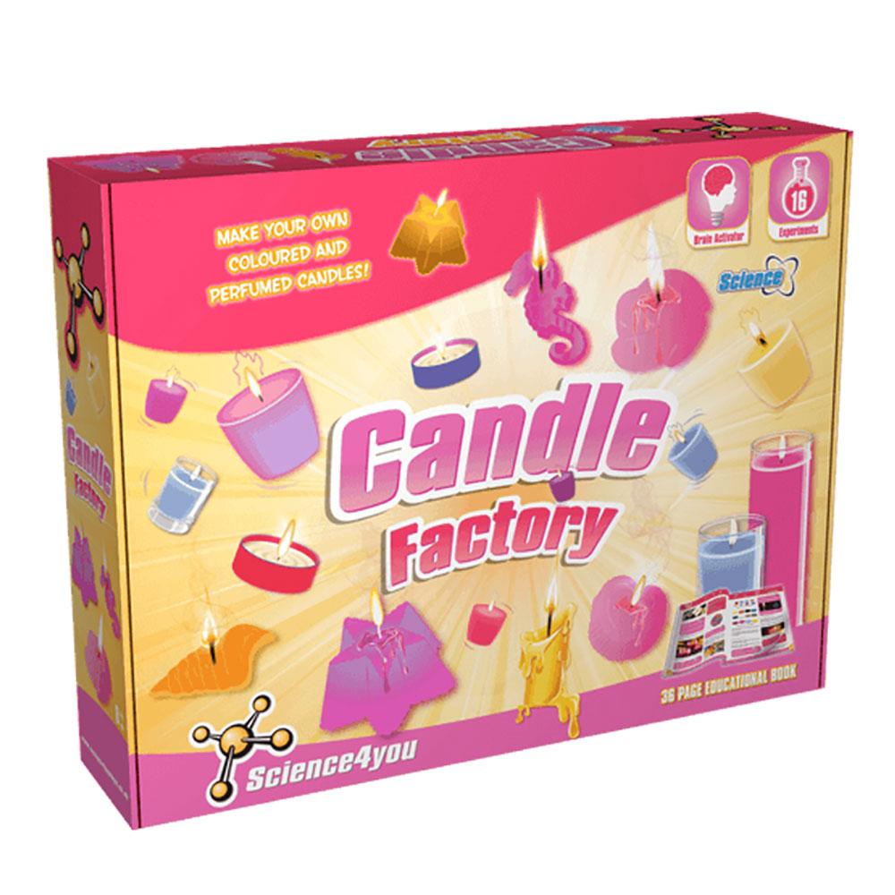 Science4you 英國科學魔術百寶盒 - 蠟燭工廠
