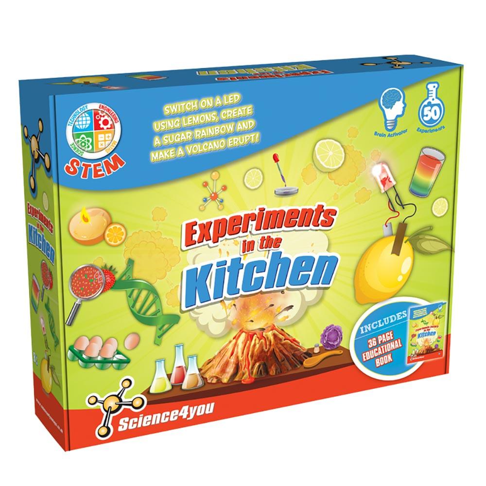 Science4you 英國科學魔術百寶盒 - 廚房實驗