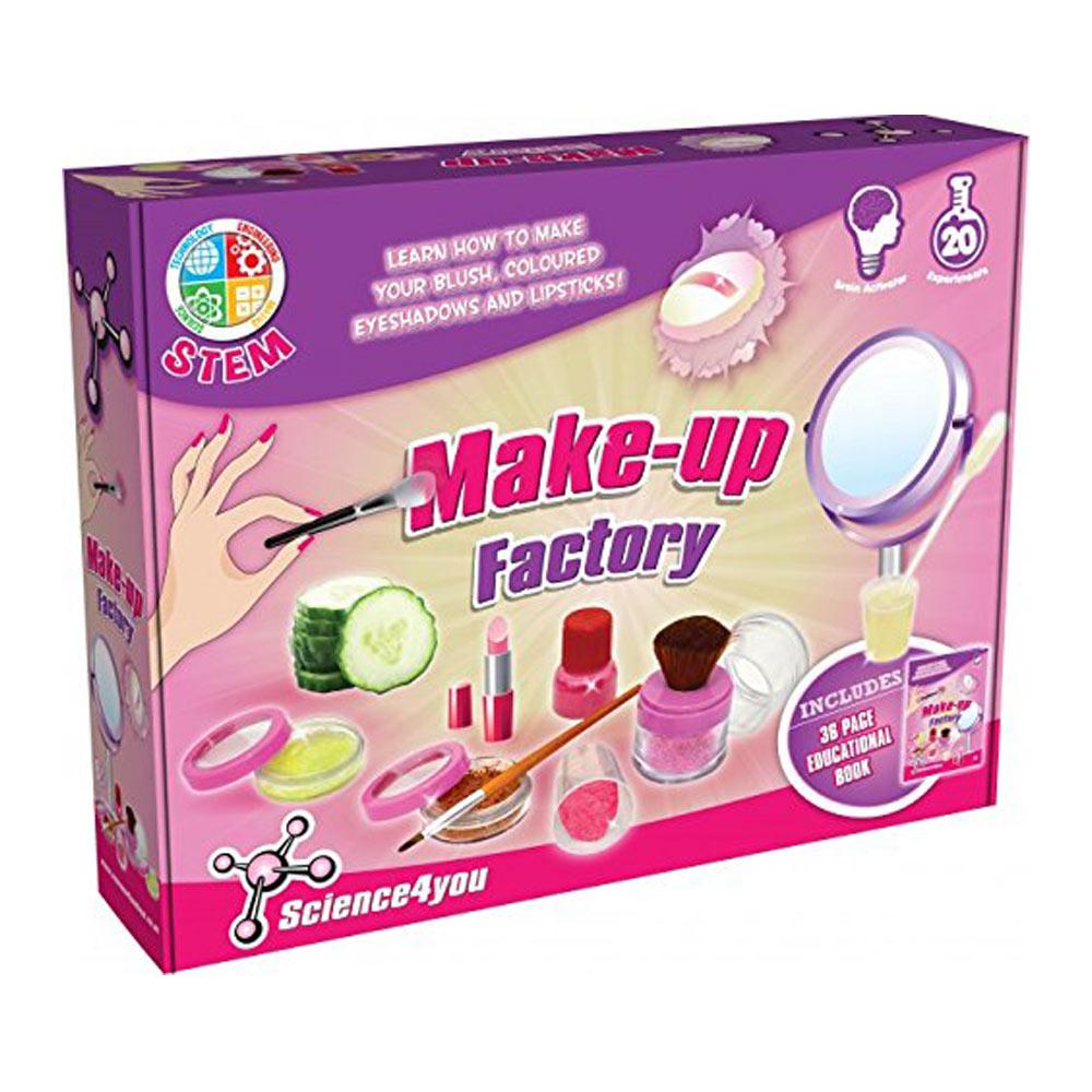 Science4you|英國科學魔術百寶盒 - 化妝品科學