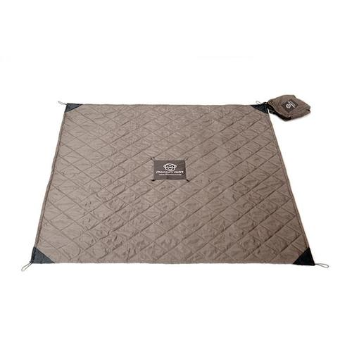 Monkey Mat|雙層厚款隨身攜帶野餐墊 - 耐髒灰