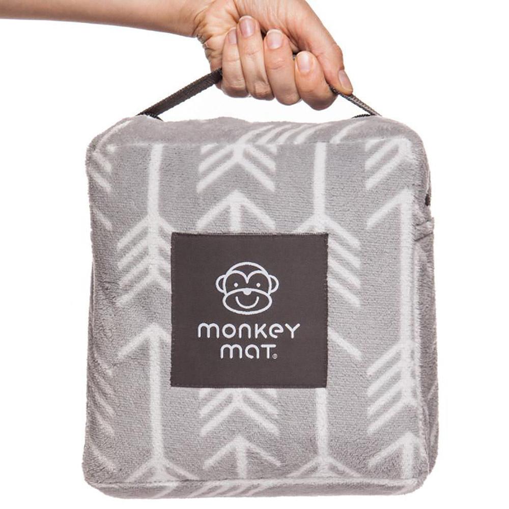 Monkey Mat|細纖維隨身攜帶野餐墊 - 典雅灰