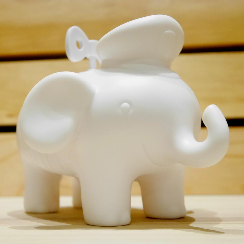 幾米|幸福小象存錢筒-白色(DIY彩繪版)