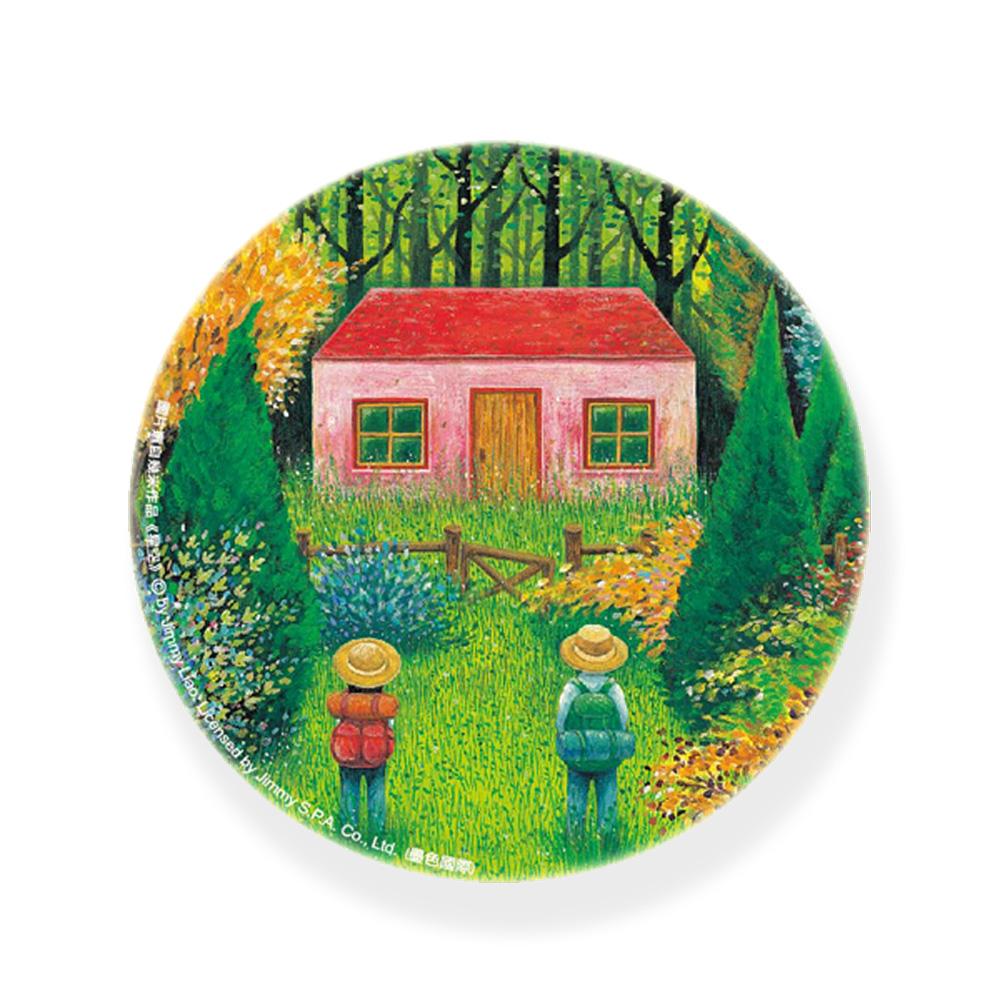 幾米|陶瓷杯墊-爺爺的家
