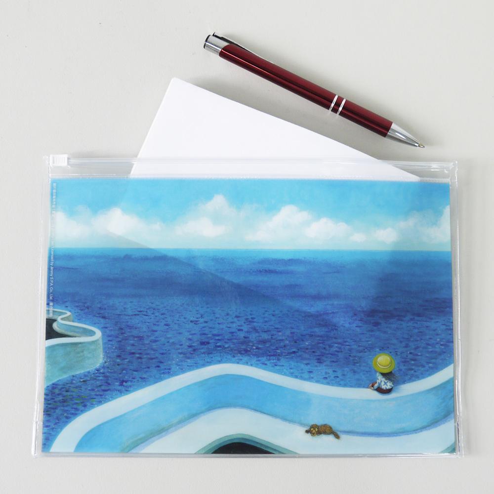 幾米 夾鏈袋-海之灣