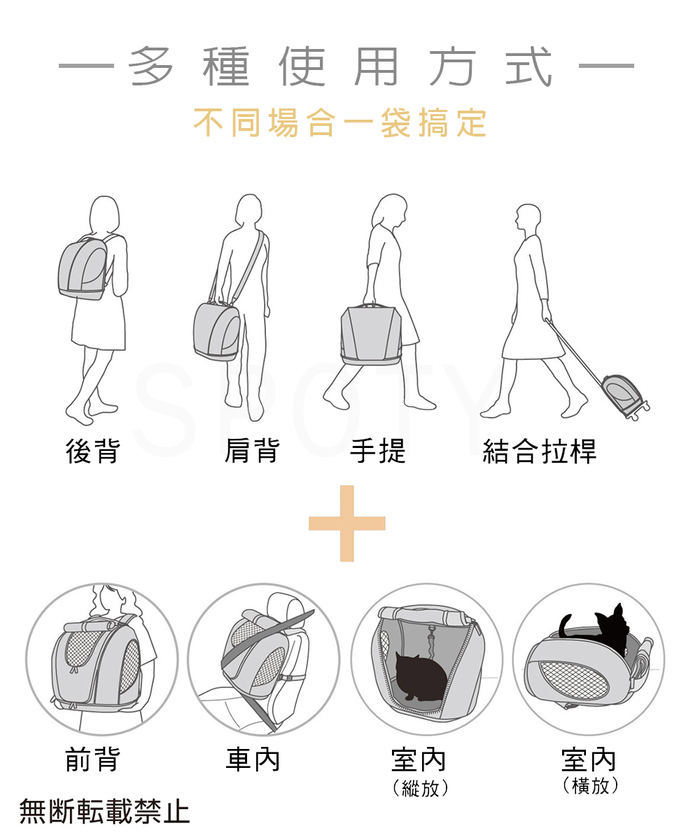日本OPPO│日式寵物袋muna