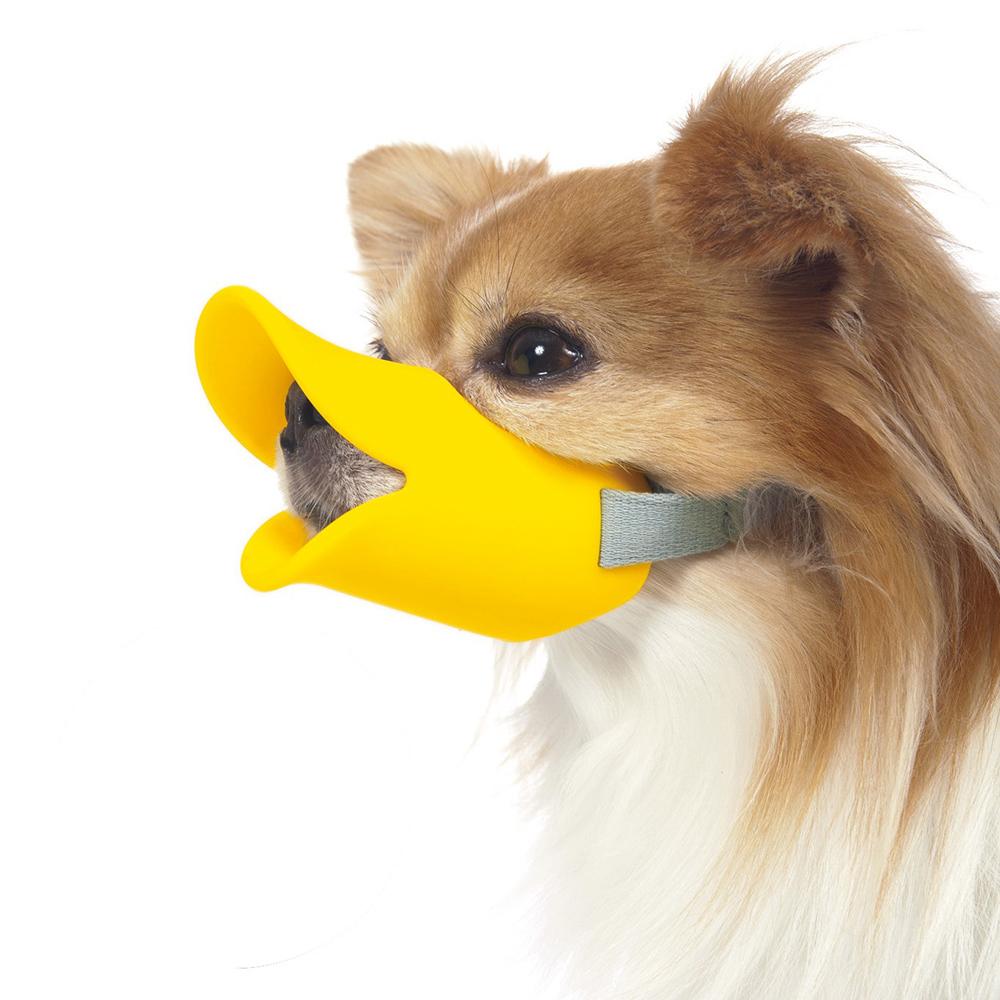 日本OPPO|呱呱寵物嘴套 哈囉你好款quack (S)