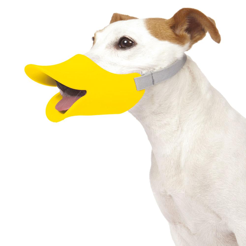 日本OPPO│呱呱寵物嘴套- 哈囉你好款 quack (L)