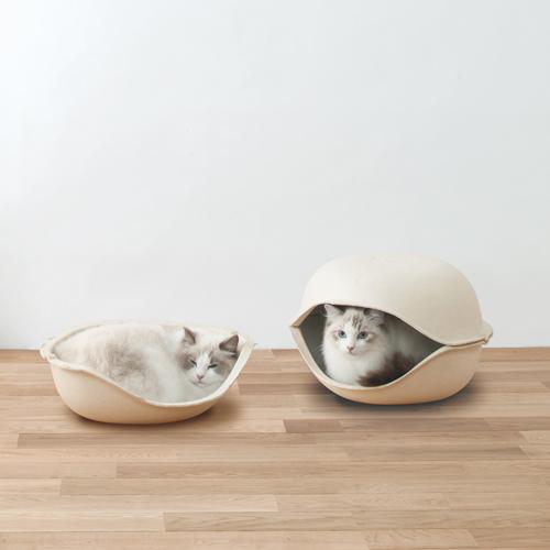 日本OPPO|貓咪創意貝殼窩1入 CatSell (經濟雅房)
