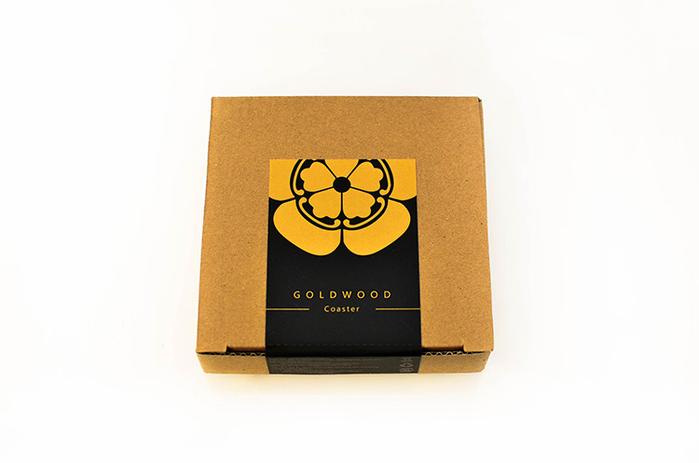 (複製)GOLD WOOD|日式大名家紋茶墊X豐臣秀吉