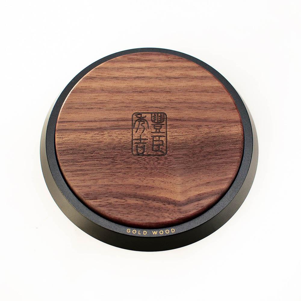 GOLD WOOD|日式大名家紋茶墊X豐臣秀吉