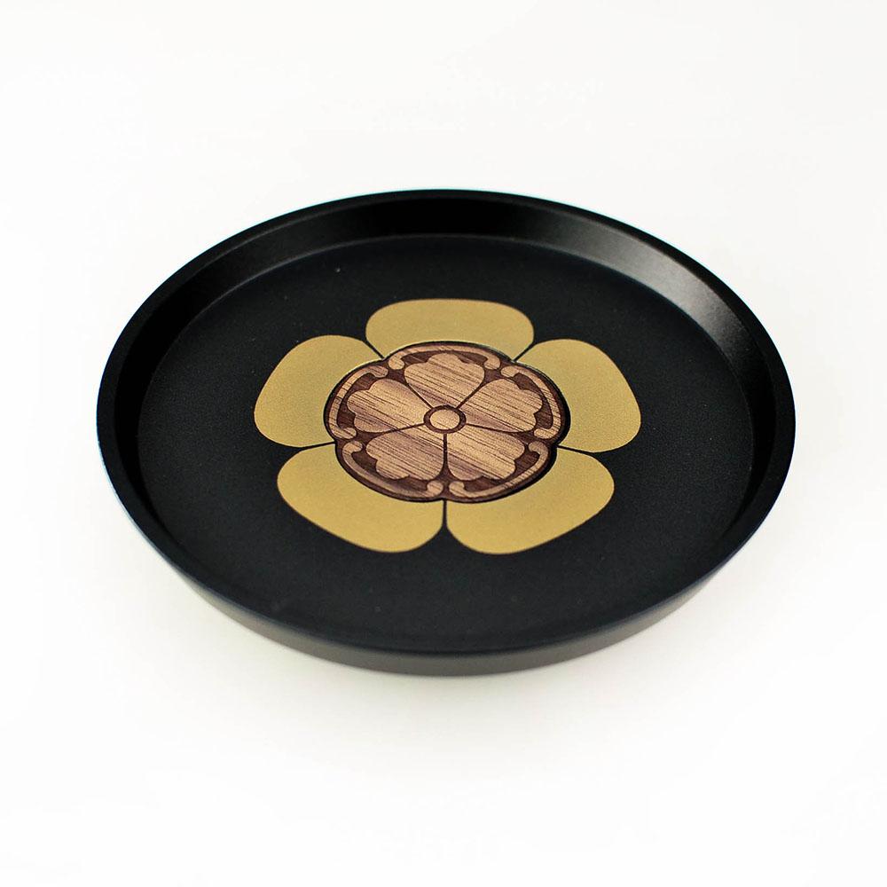 GOLD WOOD|日式大名家紋茶墊X織田信長