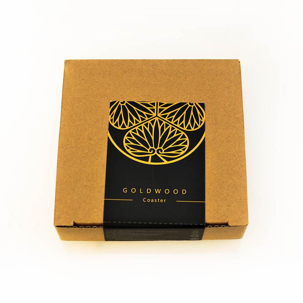 GOLD WOOD|日式大名家紋茶墊X德川家康