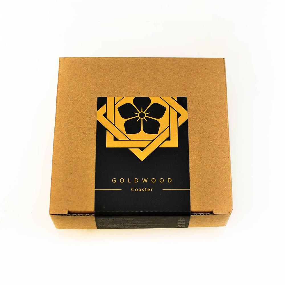 GOLD WOOD|日式大名家紋茶墊X坂本龍馬