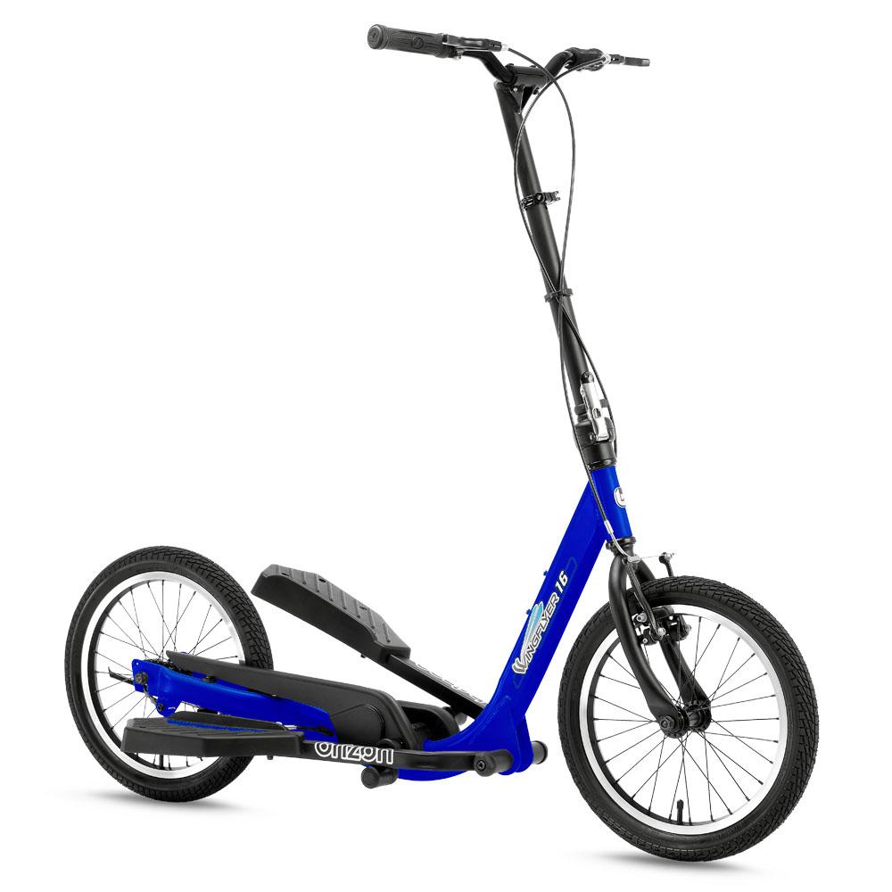 brizon|Wingflyer 戶外踩踏車 W16入門收折款(黃色/藍色)