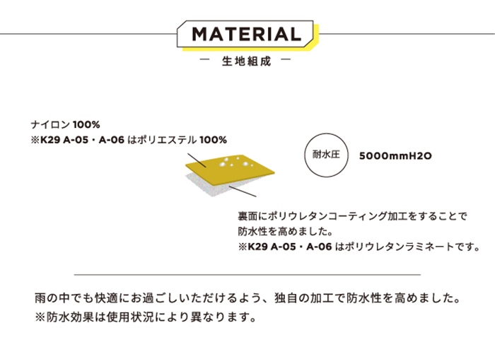 KiU| 空氣感雨衣- 附收納袋 富士山嵐