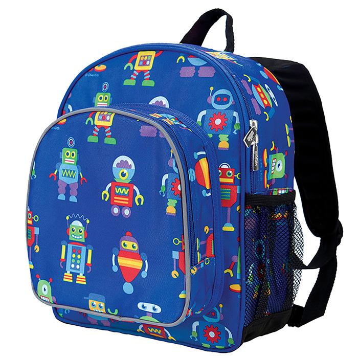 KiU|幼稚園新鮮人書包  機器人總動員