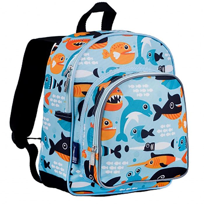 KiU|幼稚園新鮮人書包  鯨豚世界