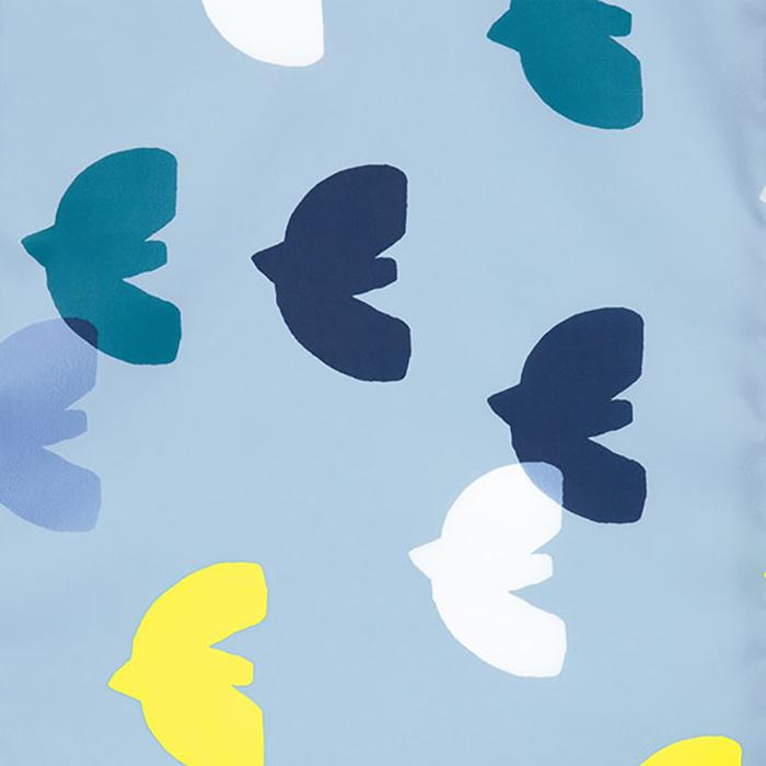(複製)WPC|空氣感兒童雨衣 克拉拉花朵(95-120cm)