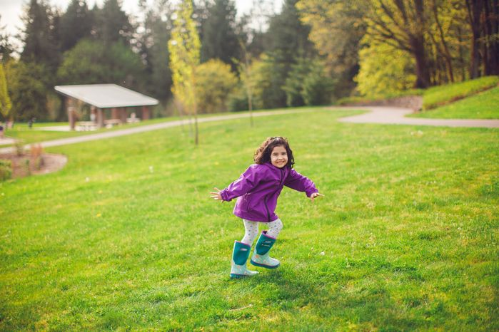 (複製)OAKI|兒童防水外套  山谷綠
