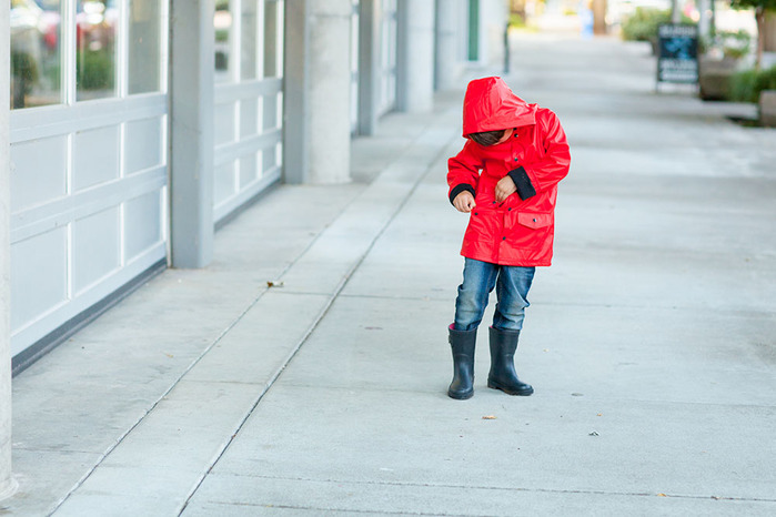 (複製)OAKI|兒童防水外套  黃黑配