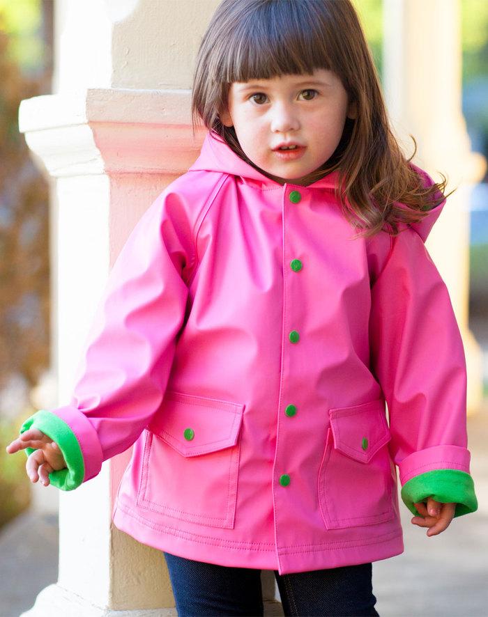 (複製)OAKI 兒童防水外套  藍綠配