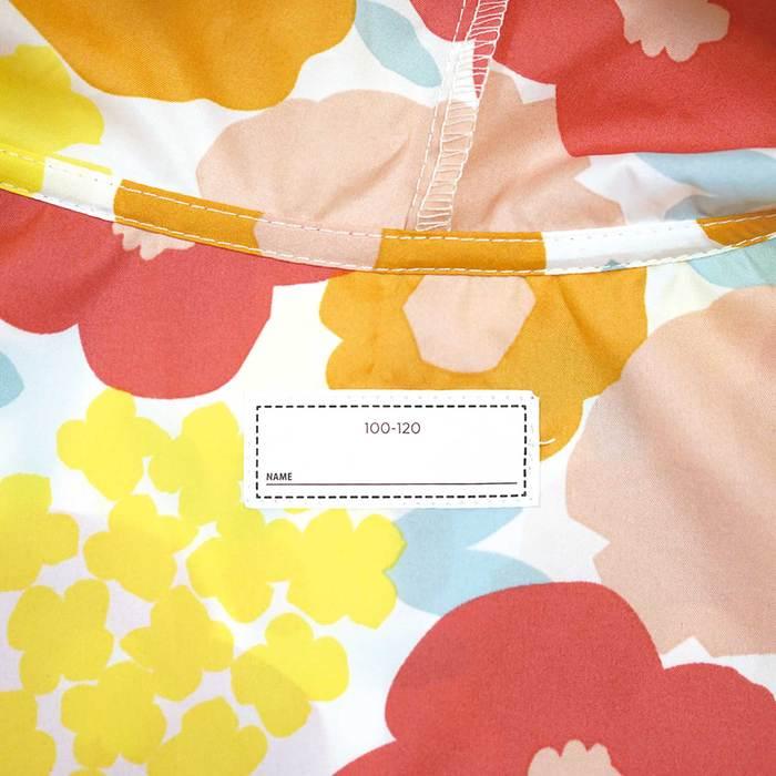 WPC|空氣感兒童雨衣 粉紅月(95-120cm)