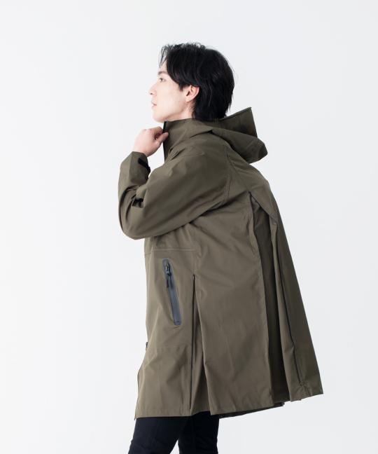 (複製)KiU|米色 多功能防雨外套- 附收納袋(男女適用)M