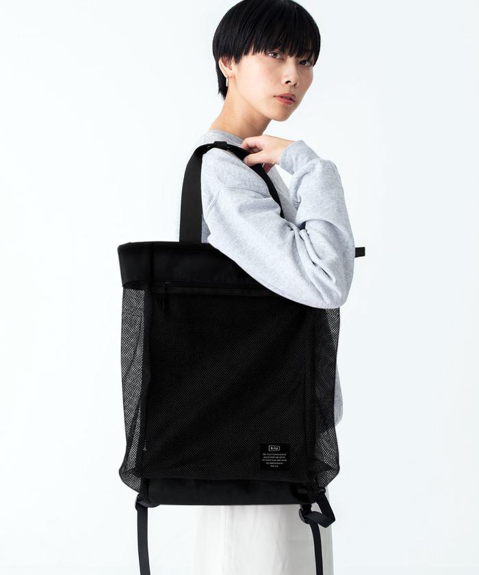 (複製)KiU|軍綠色 高機能空氣感 防潮防水 隨身旅行袋