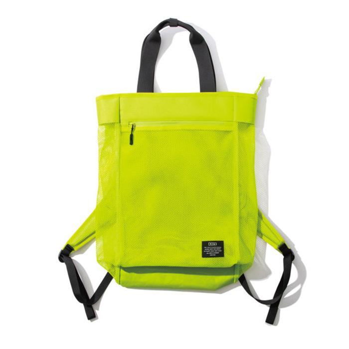 (複製)KiU|白色 側背後背2用大容量托特包
