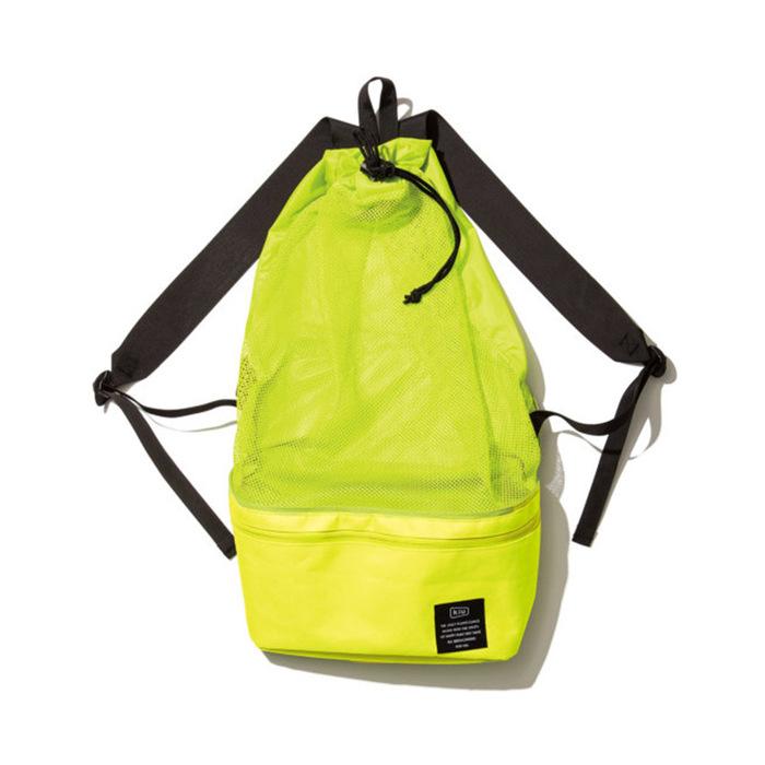 (複製)KiU|黑色 2用隨身包單肩包 游泳袋