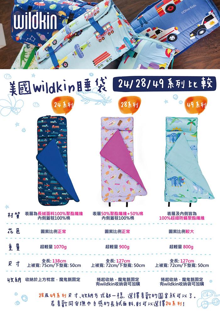 Wildkin|無毒幼教睡袋 派對動物