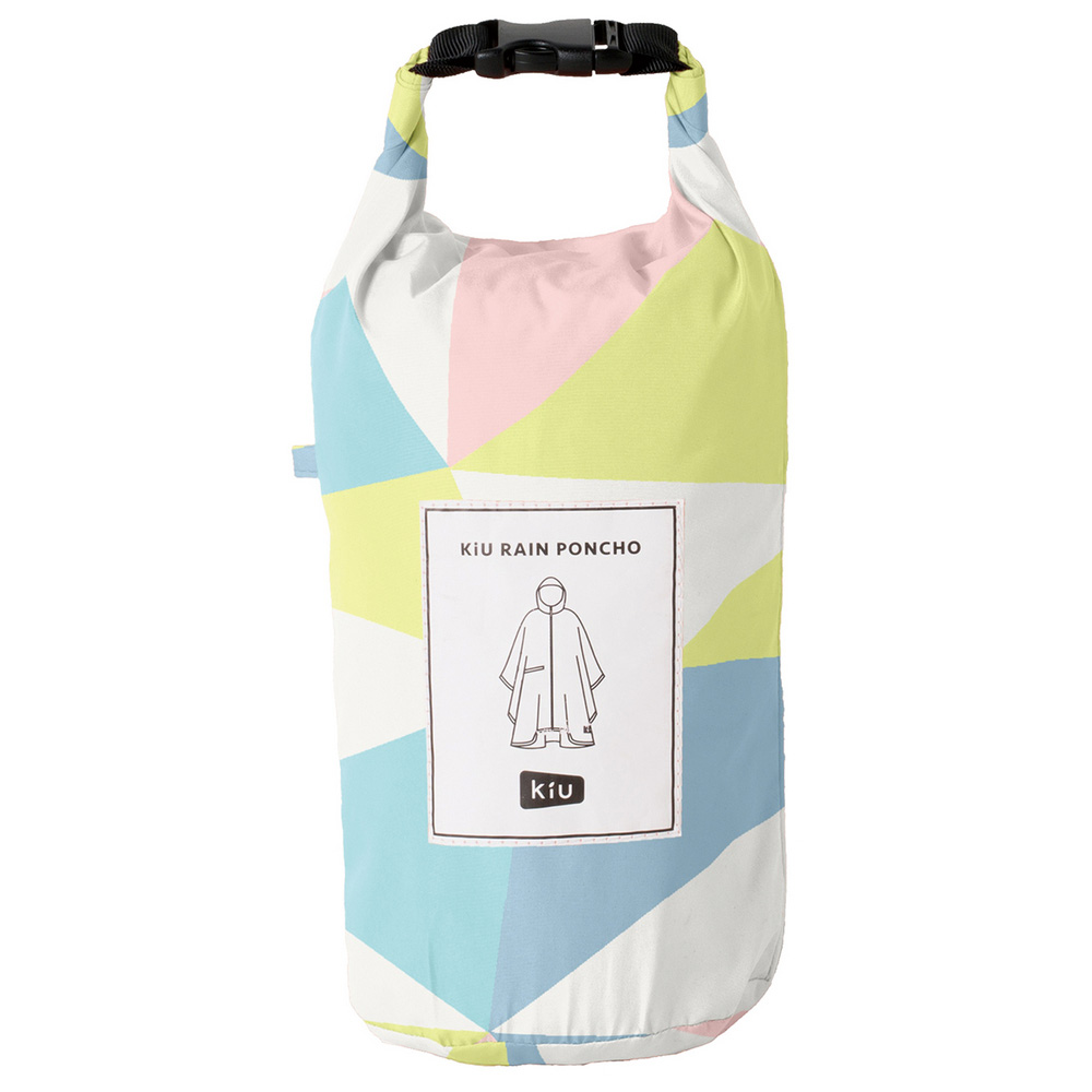 KiU|萬花筒 空氣感雨衣-附收納袋(男女適用)