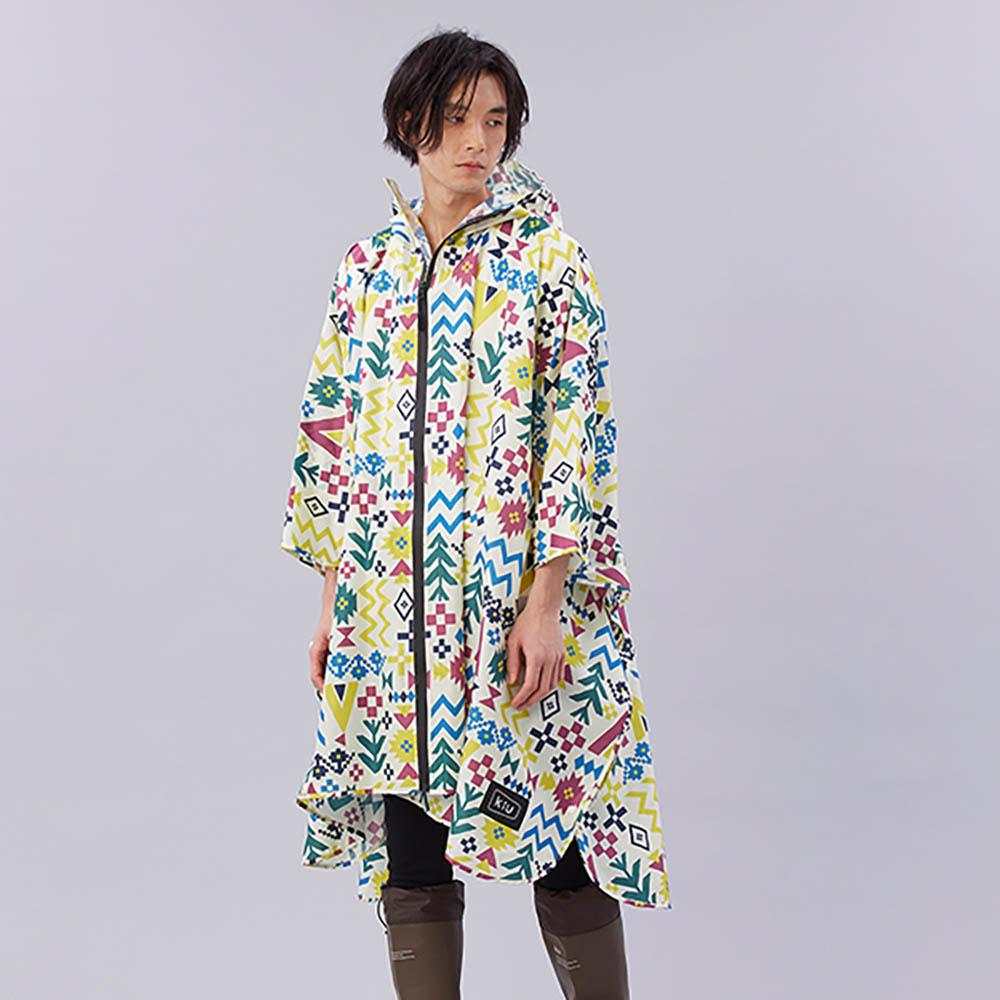KiU 美好假期 空氣感雨衣- 附收納袋(男女適用)