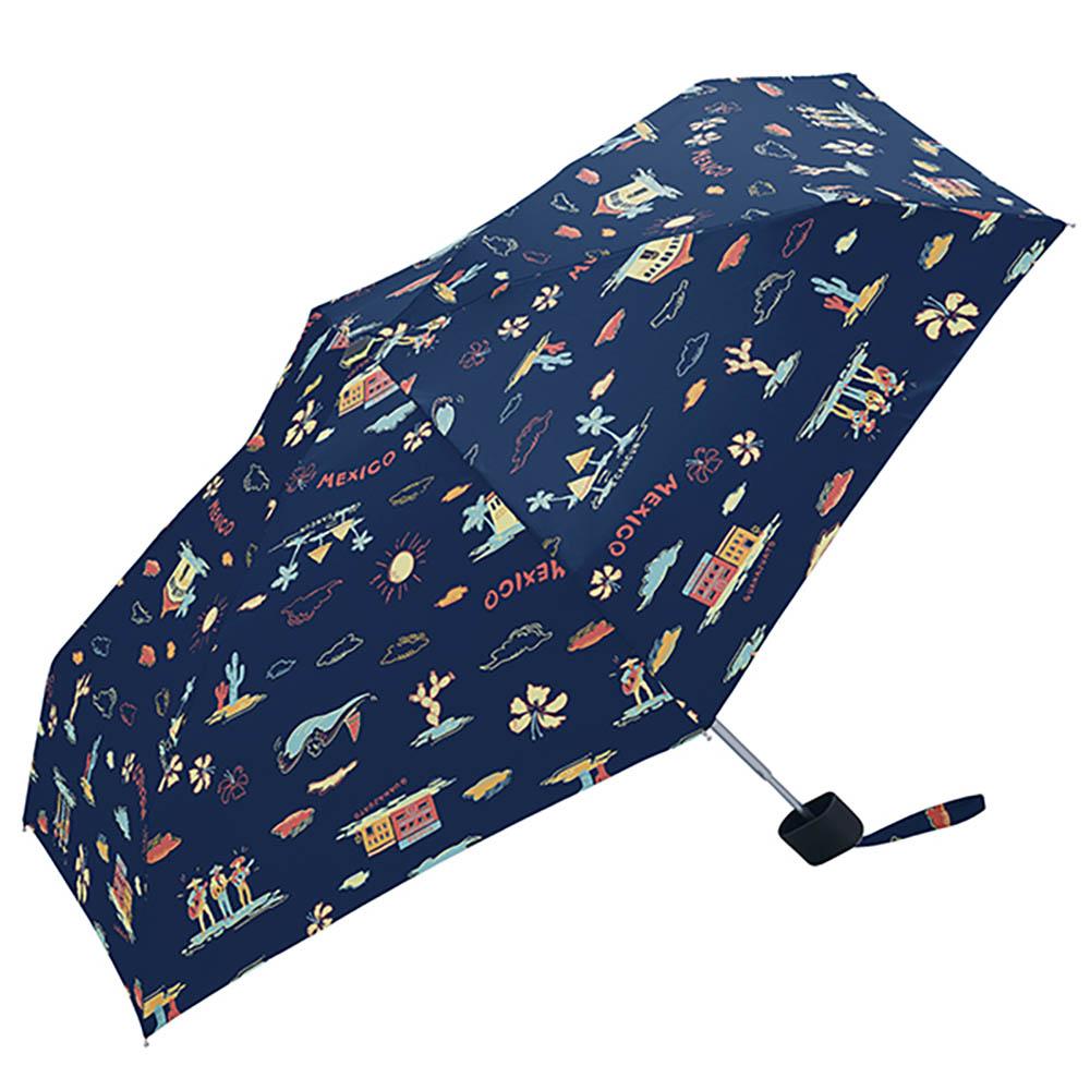 KiU  輕巧摺疊抗UV晴雨傘   拉丁風情
