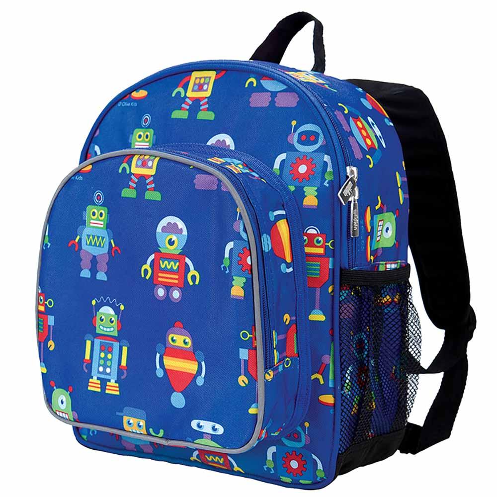 Wildkin|幼稚園新鮮人書包  機器人總動員