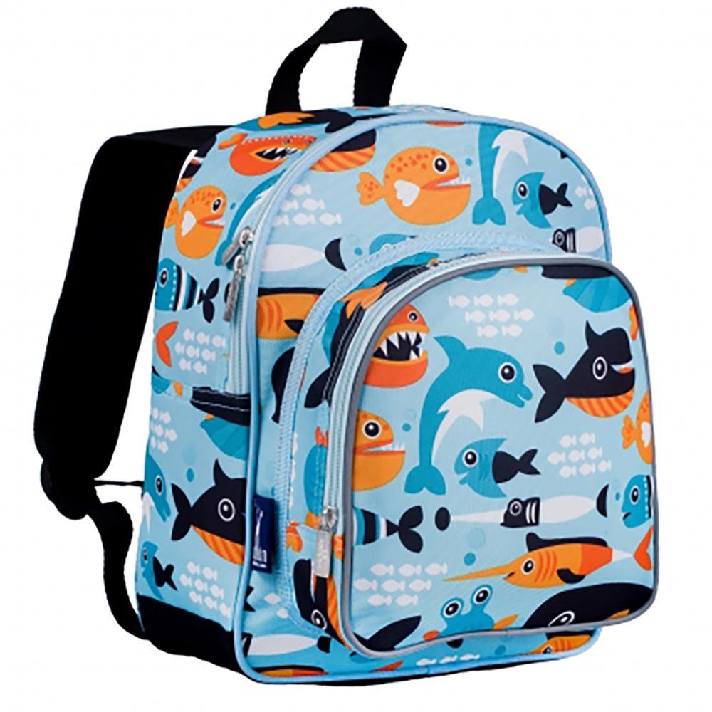 Wildkin|幼稚園新鮮人書包  鯨豚世界