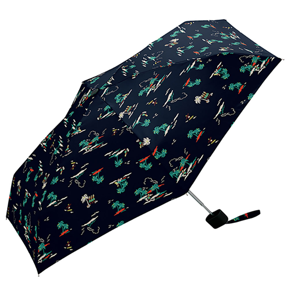 KiU| 輕巧摺疊抗UV晴雨傘   藍色夏威夷