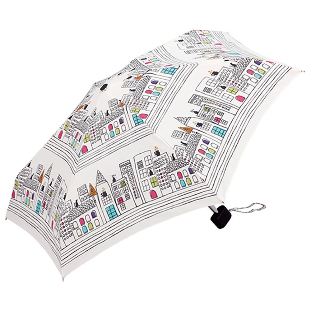 KiU| 輕巧摺疊抗UV晴雨傘   貓與城市