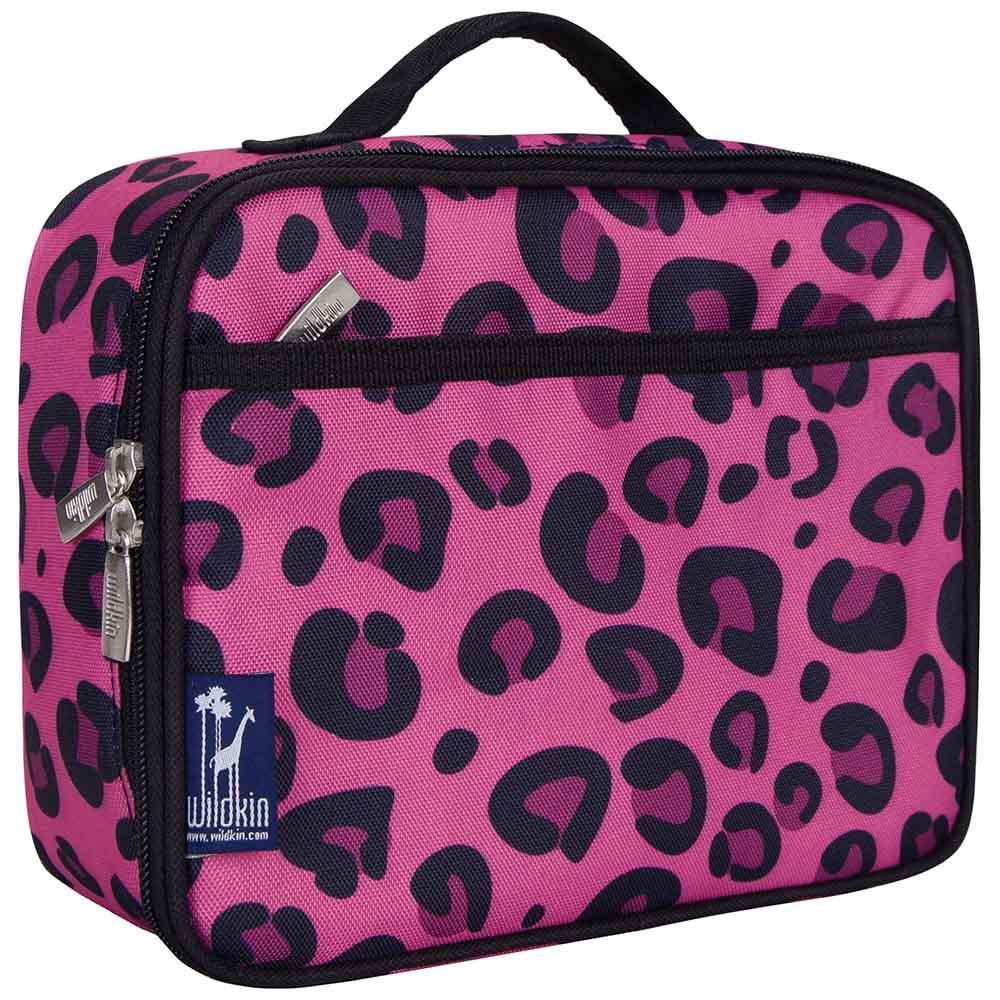 Wildkin|保冰保溫午餐袋  粉紅豹紋