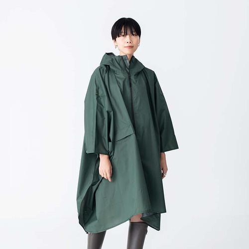 KiU 風雨彩虹 空氣感雨衣- 附收納袋(男女適用)