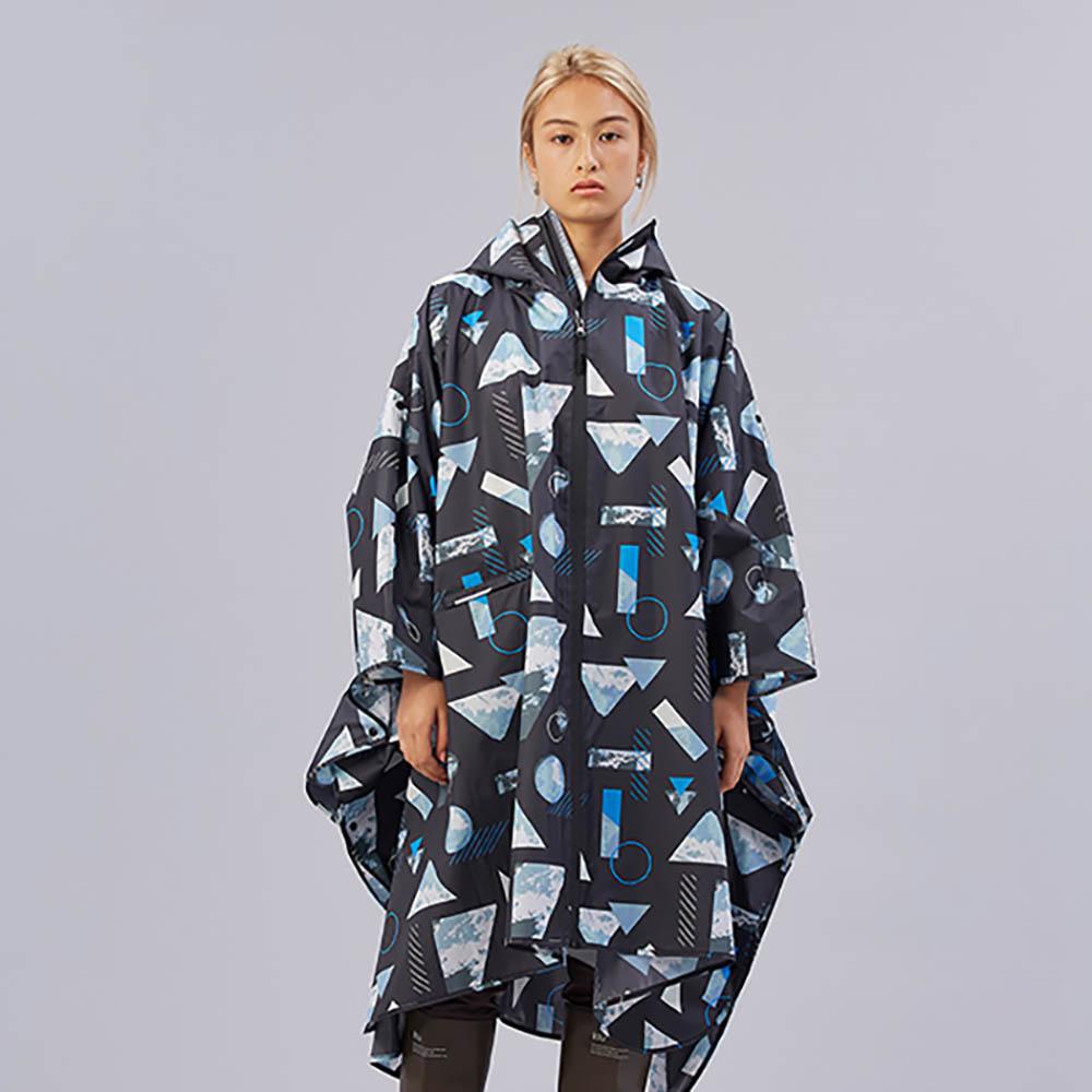 KiU|晝夜之間 空氣感雨衣- 附收納袋(男女適用)