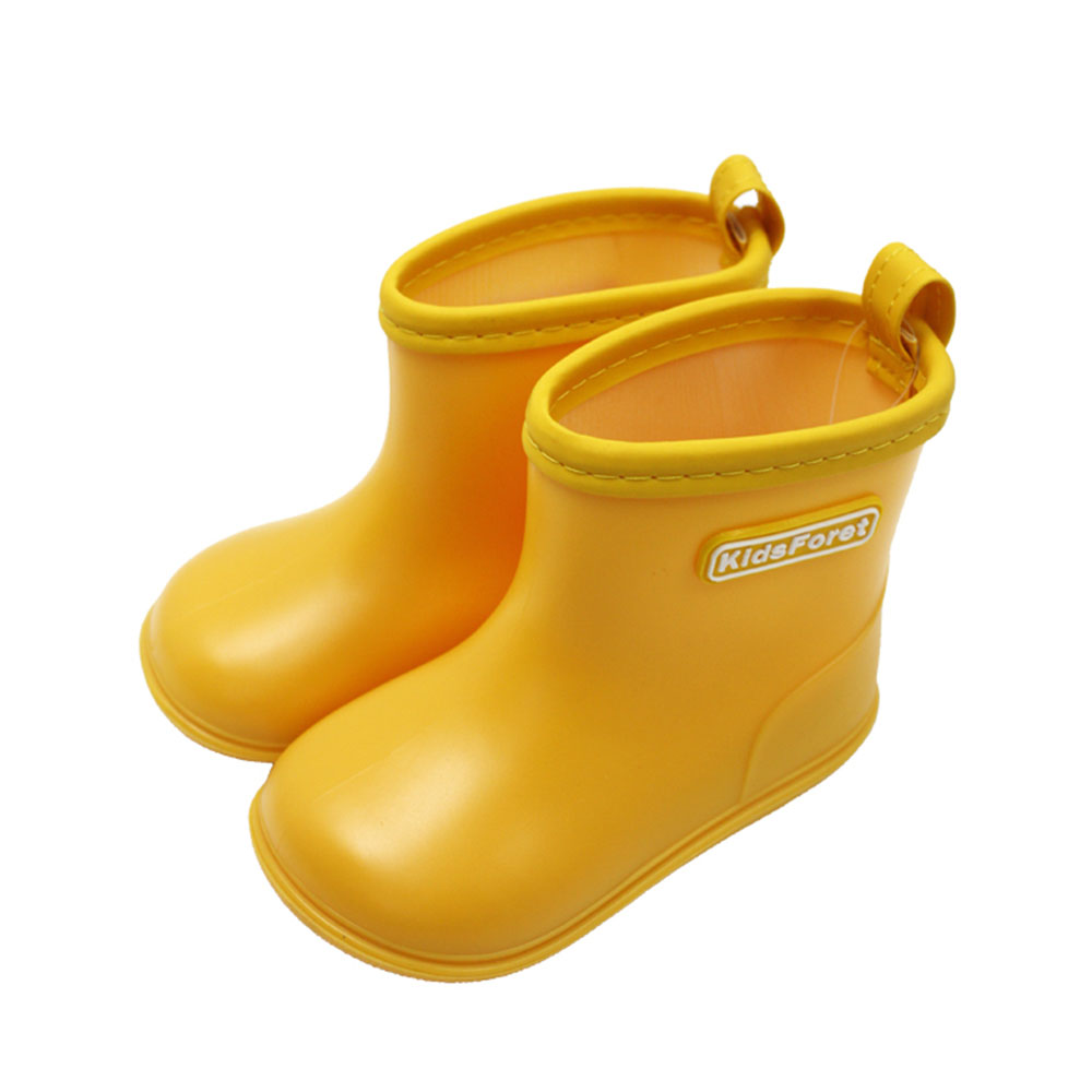 Kids Foret| 兒童雨鞋 黃色